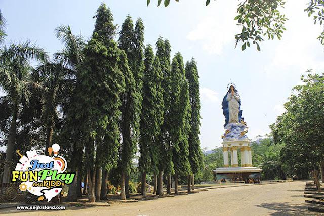 patung maria ambarawa