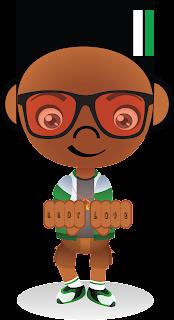 Hip-Hop B-Boy Cartoon Character Children's Book
