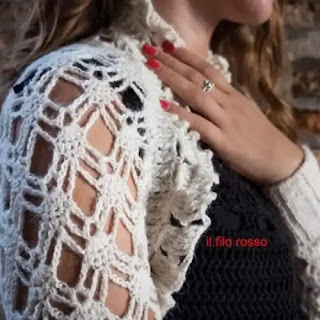 Chaqueta Venezia a Crochet