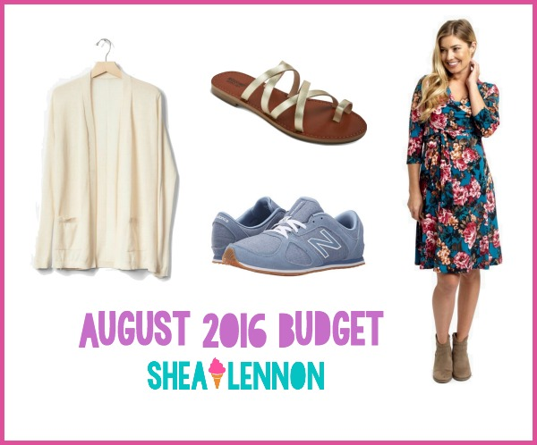 What I added to my closet in August - a few good deals plus a fun dress from Pink Blush Maternity