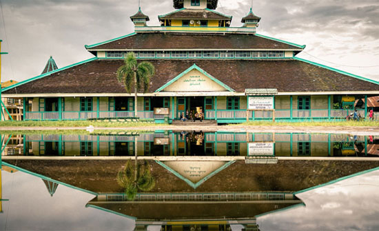 Masjid Jami' Sultan Syarif Abdurrahman. Photo courtesy STQBNXXVPontianak