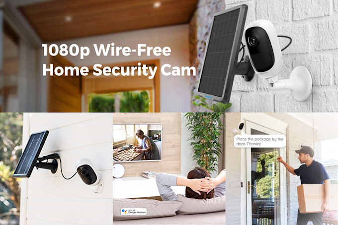 Home Security Cameras   1080p Wire-Free