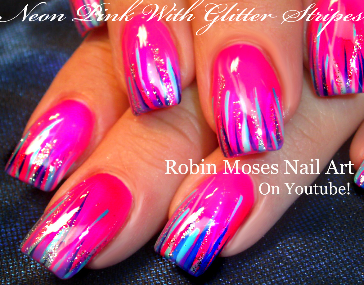 Robin moses nail art striped spring nail art 2016 thats easy 72 videos play all prinsesfo Images
