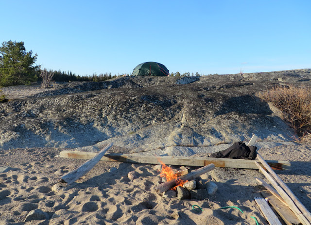 Akka Dome, Fjällripans Friluftsblogg