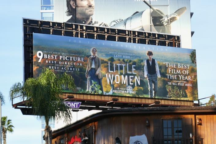 Little Women 9 Critics Choice Awards billboard