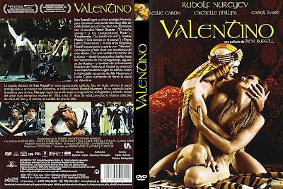 Carátula dvd: Valentino (1977)