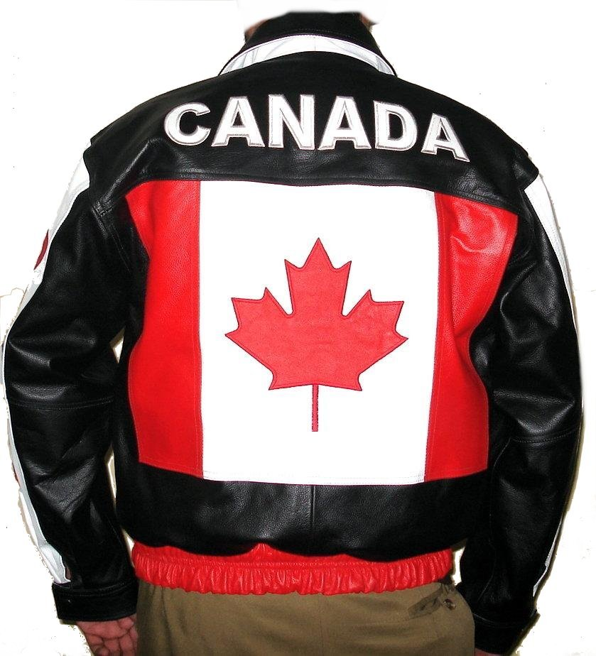 Leather jacket canada
