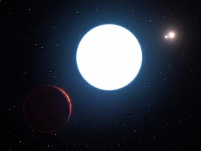 Astrônomos descobrem Planeta