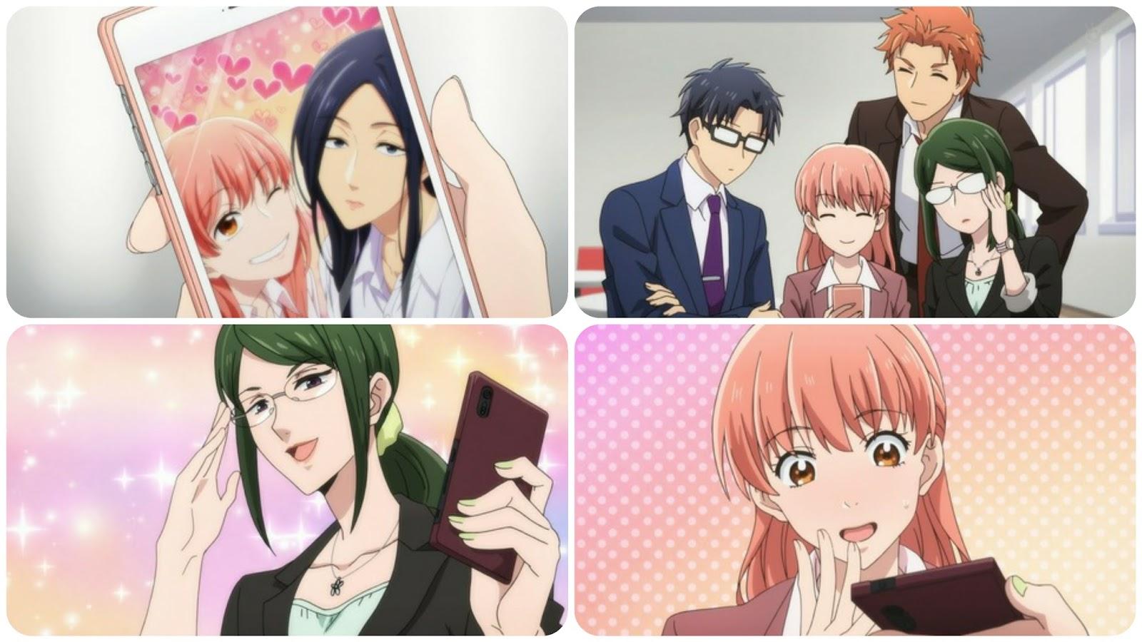 Anime Nikki Wotakoi Love Is Hard For Otaku Episode 4