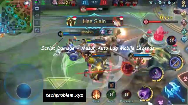 Cheat Damage + Lag Mobile Legends Patch Terbaru
