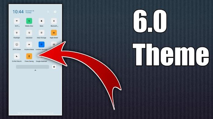 Color OS 6 Theme For Oppo & Realme | Color OS 6Theme | Esay Techs
