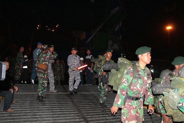 Divif 3 Kostrad Kirim 1000 Prajurit ke Donggala dan Palu