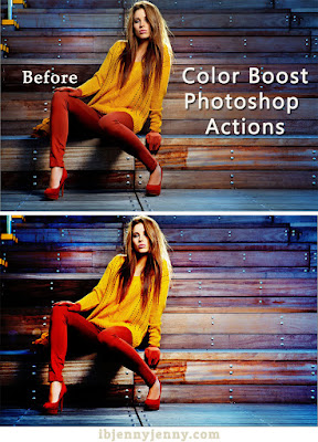 FREE COLOR BOOST PHOTOSHOP ACTIONS