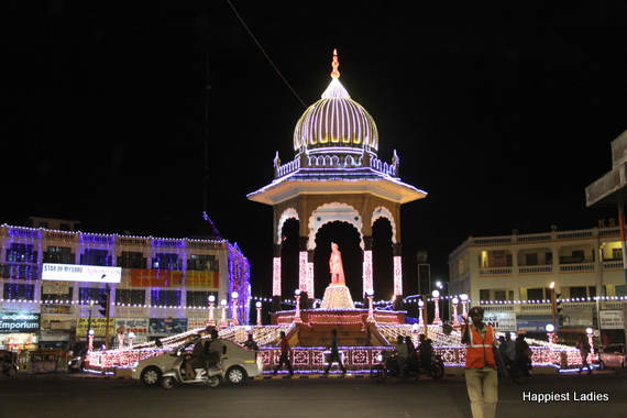 Mysore Dasara Street Lightings1
