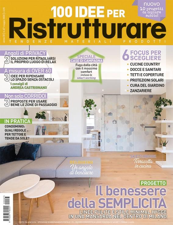 """PUBBLICAZIONE: """"100 idee per ristrutturare: il benessere della semplicità"""""""