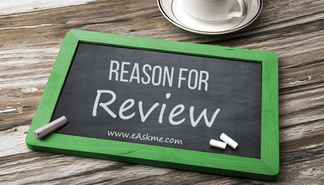 Reason for review: How Much You Should Charge for Paid Reviews: eAskme