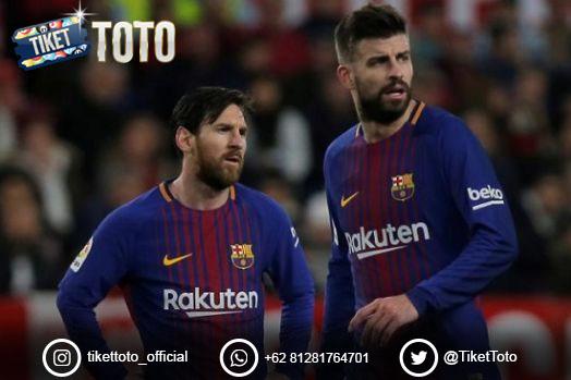 Pique dan Messi Pesimistis Juara, Seburuk Itukah Barcelona?