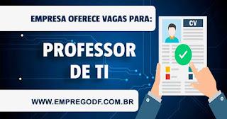 Professor de Tecnologia