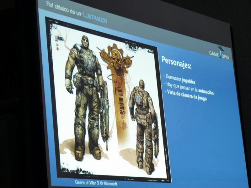 Charla sobre arte de videojuegos