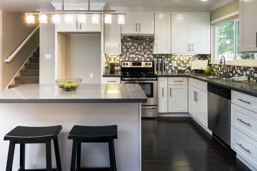Desain Meja Dapur L
