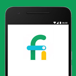 Project Fi Phone with Logo
