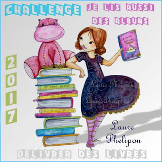 """Challenge """"Je lis aussi des albums"""" 2017"""