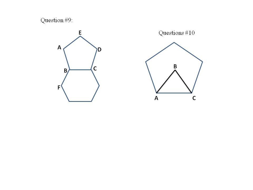 Mathcounts Notes Polygon Part Ii Interior Exterior Angles Central Angles And Diagonals And
