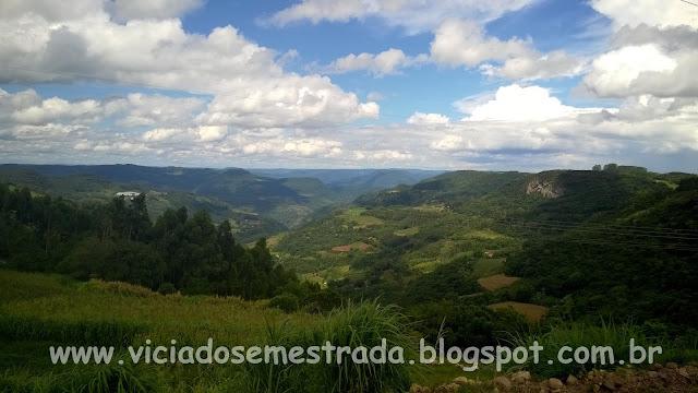Bela vista às margens da Estrada Júlio de Castilhos