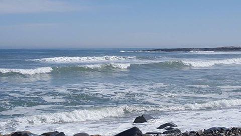 High Surf At Brant Rock Beach