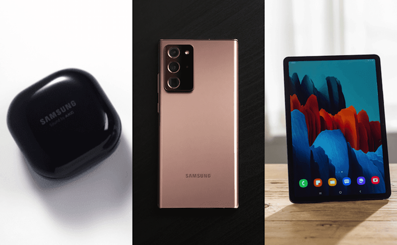 Top 6 announcement at Samsung's August Unpacked 2020