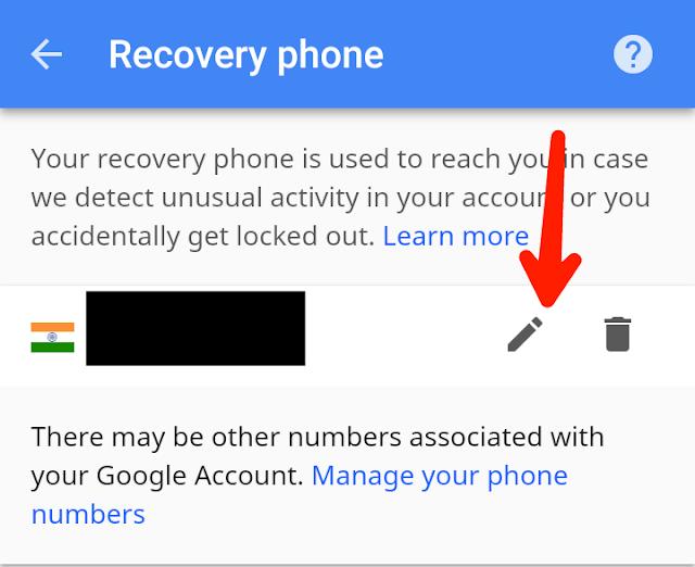 gmail id password change karna hai