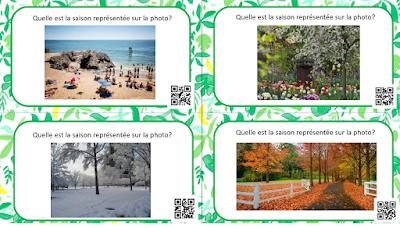 Cartes à tâches sur le calendrier - Mois de l'année et fêtes