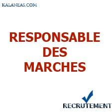 Recrutement Responsable Du Marché PME H/F