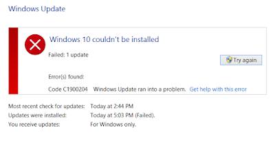 Windows Update Error 0x80070422