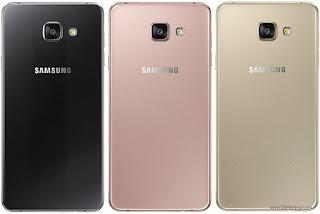 Warna Samsung Galaxy A7 Edisi 2016