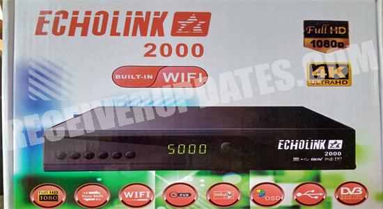 ECHOLINK 2000 BUILT-IN WIFI 1506TV HD RECEIVER SOFTWARE UPDATE