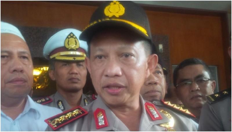 Kapolri Jenderal Tito Karnavian di Mapolda Sumut