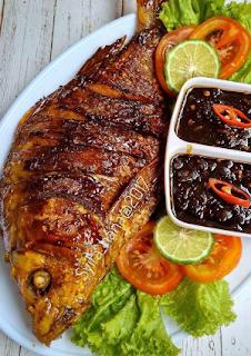 Resep Ikan Bakar Sambal Pedas Praktis