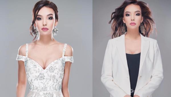 Kamilla Serikbay es Miss Universe Kazakhstan 2020