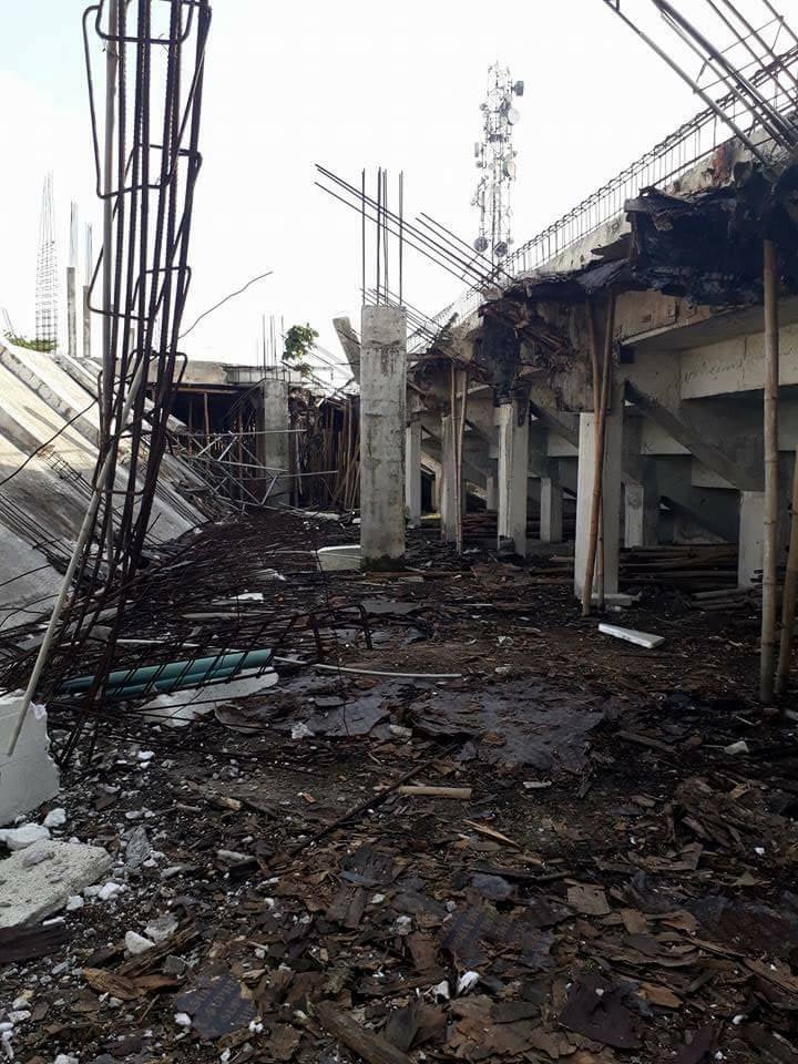 Stadium collapses after heavy rainfall in Calabar