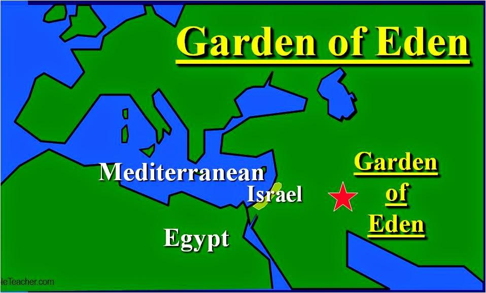 Where is the garden of eden is it still around today - Where is the garden of eden today ...