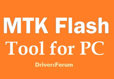 MTK Flash tool for PC