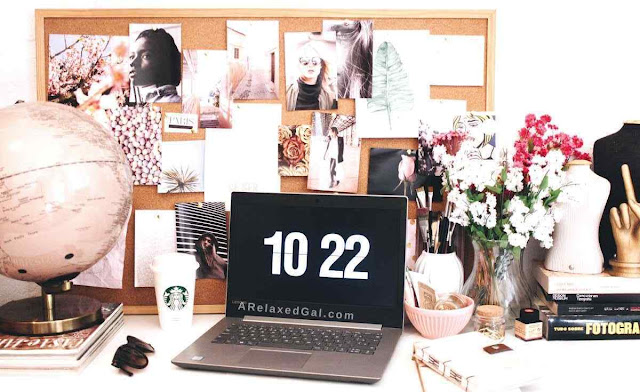 Must haves for a home office | A Relaxed Gal