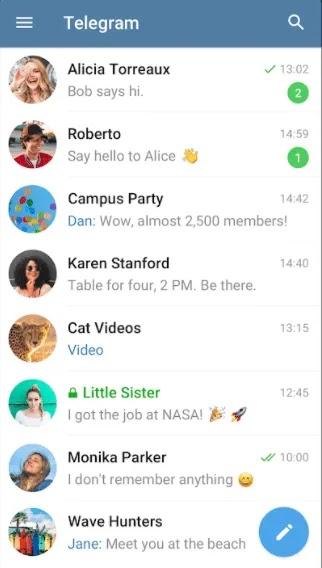 أفضل بدائل Whatsapp Telegram