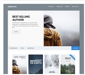 Studio Press, Author Pro Word Press Theme