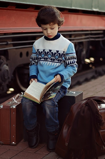Have a book while travelling