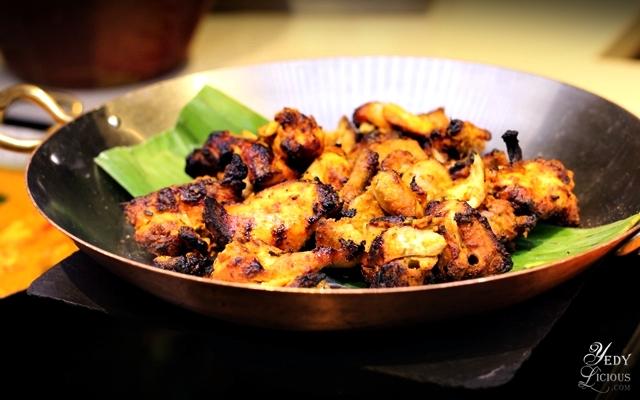 Chicken Tikka, Indian Food Buffet at HYATT COD Manila