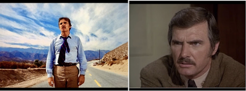 Dennis Weaver in Duel (left) Weaver in McCloud (right) (image)