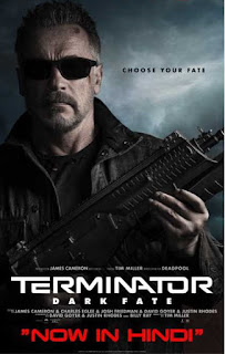 Download Terminator Dark Fate (2019) Full Movie Hindi Dual Audio 480p HDCAM