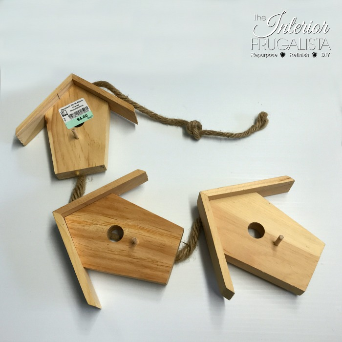 Birdhouse Door Hanger Before